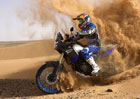 Yamaha Ténéré 700 World Raid a Stéphane Peterhansel v dunách marocké pouště