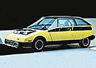Toyota CX-80: Takto si Japonci představovali v roce 1979 městské auto budoucnosti