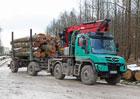 Mercedes-Benz Unimog jako ideální společník pro lesníky
