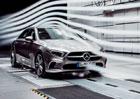 Mercedes-Benz třídy A sedan má nový rekord. Chlubí se nejlepší aerodynamikou na světě
