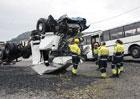 Scania poskytuje kabiny nákladních vozidel pro nácvik vyprošťování