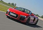 Za volantem Audi R8 Spyder RWS: Exkluzivní supersportovní zadokolka pro každý den