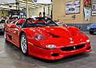 Je libo Ferrari F50? Na prodej je vůbec první postavený kus. Jezdil s ním i Lauda!