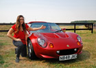 Věděli jste, že Lotus Elise je pojmenován po této slečně? Po letech se zvěčnila s prvním kusem
