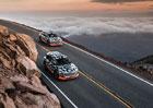 Audi vyrazilo s chystaným SUV e-tron na Pikes Peak. Proč jelo z kopce a ne na slavný vrch?