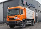 První Scania XT pro svoz komunálního odpadu je na Vysočině