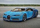 Lego postavilo z kostek Bugatti Chiron. V životní velikosti. A pojízdné!