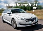 Škoda Octavia čtvrté generace dostane atraktivnější tvary. Takto by se nám líbila!
