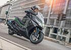 Kawasaki lehce osvěžila skútry J125 a J300 pro modelový rok 2019