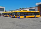 Scania dodala společnosti BORS Břeclav nové autobusy na CNG