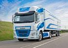 DAF spojuje budoucnost nákladních vozidel s elektřinou