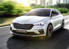 Škoda Vision RS odhaluje budoucnost modelů RS i nástupce Rapidu
