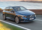 Mercedes-Benz B: Nové MPV sází na osmistupňovou dvouspojkovou převodovku