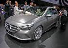 Paříž 2018 živě: Nový Mercedes-Benz B ukazuje, jak by MPV mělo vypadat