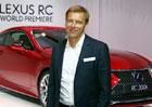 Hybridy nám pomohly s WLTP, elektrovůz nabídneme, až ho trh bude chtít, říká evropský šéf Lexusu