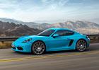 Porsche připravuje model 718 Cayman T ve stylu 911 Carrera T