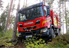 Výjimečný speciál Scania XT 6x6 pro boj s lesními požáry