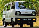 Maruti Omni je mikrobus vyráběný od roku 1985! Má tři metry a uveze osm lidí