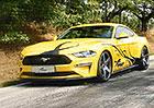 Ford Mustang Wolf Racing: Poník s barvičkami a kompresorem