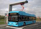 Elektrobusy v Ostravě umí ultrarychlé dobíjení. Pět minut na nabíječce stačí na hodinu cestování