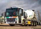 Mercedes-Benz Econic jako obratný domíchávač betonu pro město