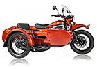 Ural už má taky elektrickou motorku a nechal jí i klasický postranní vozík