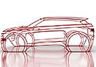 Range Rover Evoque druhé generace poodhaluje skica. Změní se vůbec?