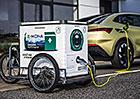 Škodovka testuje v Praze mobilní nabíjecí stanice. Doveze ji k vám elektrokolem