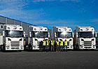 Scania dodala nové tahače R 450 pro společnost TQM – holding s.r.o.
