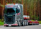 Scania S 730 8×4/4: Specialista na nadměrné náklady