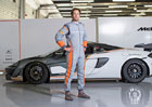 McLaren a Sparco nabízí závodní kombinézu s extrémně nízkou hmotností
