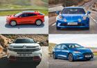 Tohle jsou finalisté evropského Auta roku 2019: Francouzský sporťák, elektromobil i SUV