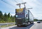 Scania dodá nová nákladní vozidla pro elektrifikované dálnice v Německu