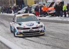 Připomeňte si pražský rallysprint: Polo GTI R5 v akci!