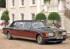 Dlouhý landaulet Rolls-Royce Silver Spirit nesloužil císaři, ale propagaci