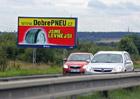 U dálnic a silnic zůstává více než tisícovka nelegálních billboardů