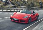 Porsche 718 Boxster a Cayman v provedení T nabídnou ryzí radost z jízdy