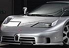 Bugatti EB110 Super Sport půjde do dražby: Najeto nemá ani 900 km!
