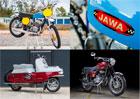 Klasické motocykly Jawa a ČZ se budou dražit v Las Vegas. Tady je jejich výběr