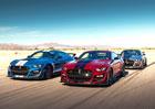 Ford Shelby GT500 je nejvýkonnější sériový Mustang historie. Používá dvouspojkovou převodovku!