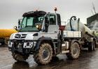 Mercedes-Benz Unimog U 423 zastane i roli zem�d�lsk�ho traktoru
