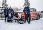 Mistryně světa Eva Samková a Roman Koudelka za volantem: Snowboard vs. lyže