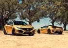 Honda oslavuje 50 let v Austrálii zlatem. Použila ho i na sekačku
