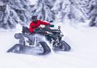 Svezli jsme se s CF Moto Gladiator X600 a X1000 s pásy Camso: Pásovec sněžný!