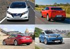 Tohle jsou nejprodávanější elektromobily v Evropě. Žebříček má nového krále