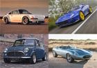 To nejlepší z modernizované klasiky značek Jaguar, Porsche, Mini a Lancia