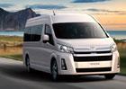 Tradiční Toyota Hiace přijíždí v nové generaci. Nabízí řadu různých provedení