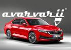 Škoda Octavia IV se objevuje jako vize grafika. Jak blízko má k pravdě?