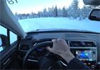Video: Se Subaru daleko za polárním kruhem. Příšerná zima a hroty
