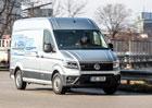 Video s VW e-Crafterem: Elektrickou dodávku jsme potrápili na dálnici i pod náporem brambor